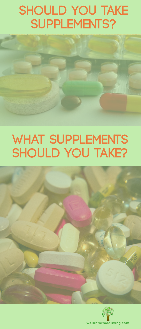 should you take supplements